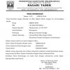 Format Surat Keterangan Beda Tanggal Lahir dan Nama (Identitas)