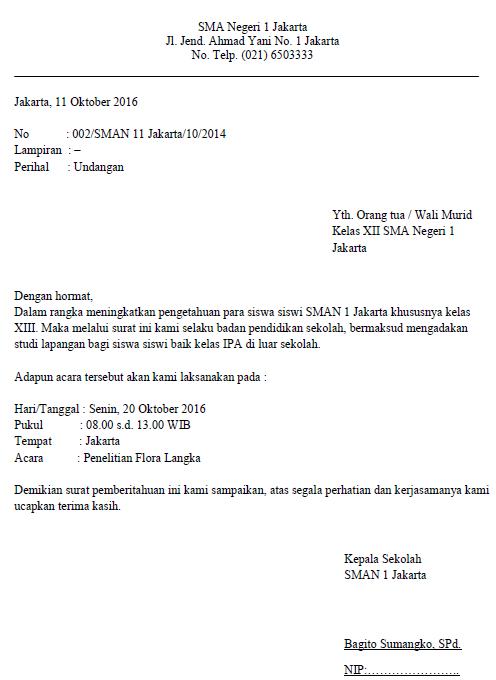 Contoh Kop Surat Resmi Sekolah Charlottemust