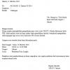 Contoh Surat Dinas Sekolah Resmi Yang Benar dan Baik