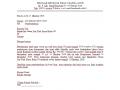 Format Contoh Surat Pemberitahuan Resmi Yang Baik dan Benar