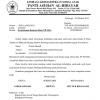 Contoh Surat Permohonan Zakat Infaq dan Shodaqoh yang Sopan