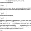 Contoh Surat Pernyataan Salah Transfer Uang Bank, Perusahaan, dan Pribadi