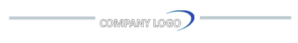 Contoh Kop Surat Perusahaan - Hanya Logo